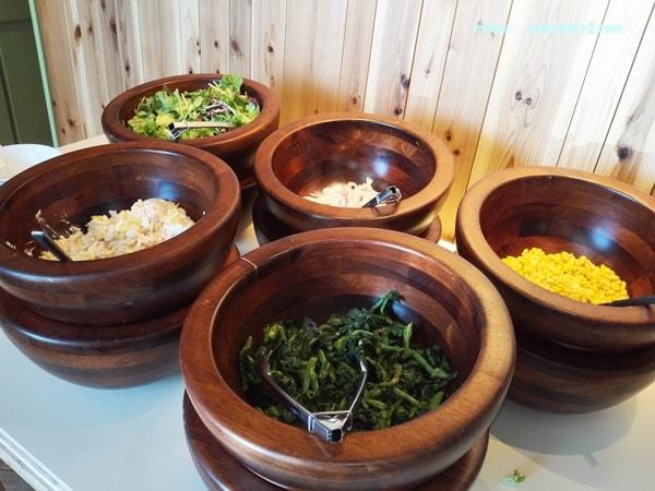 ジョリージェリーフィッシュ・季節の野菜ビュッフェ