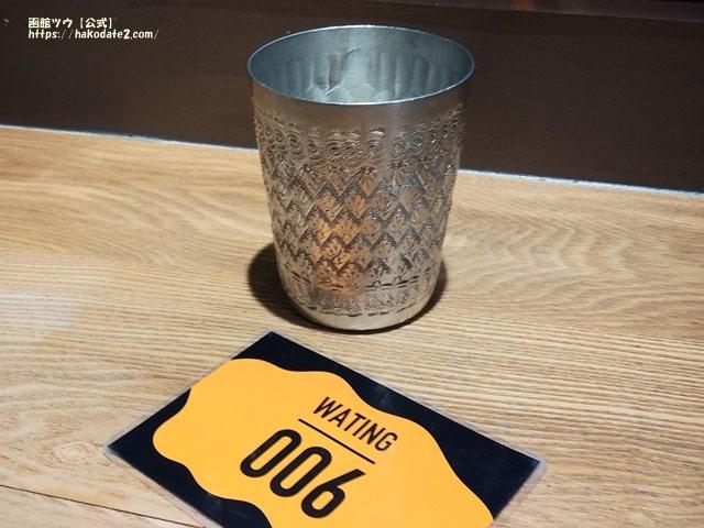 ガパオ飯の番号札