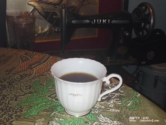windハナレィムーンのコーヒー