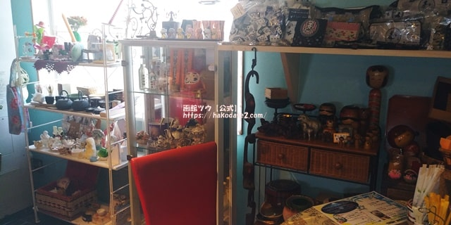 雑貨がイッパイのカフェ(函館)