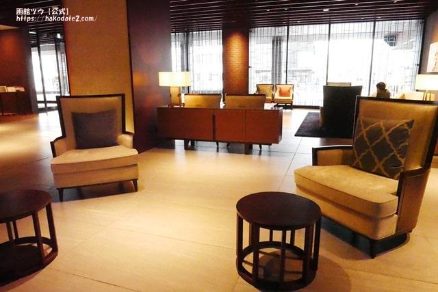 函館国際ホテルのロビー