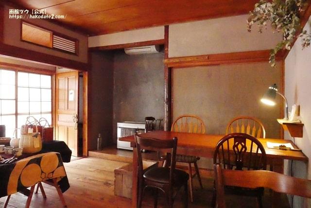 リノベーションした函館の古民家カフェ・シプル