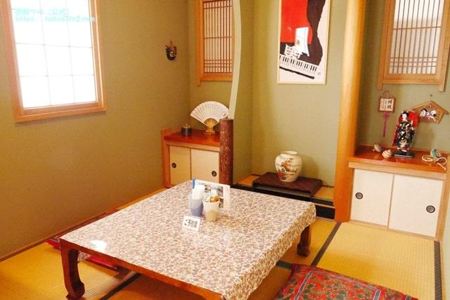 cafe谷地坂の和室