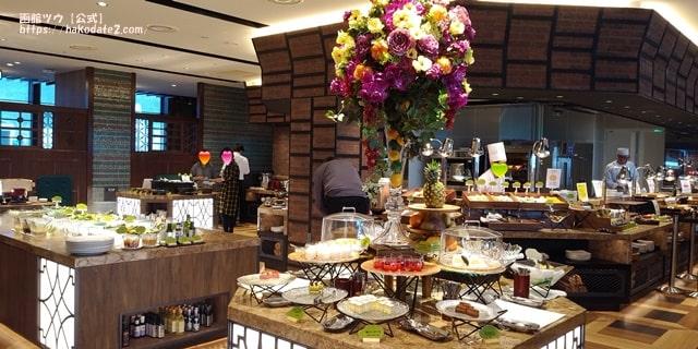 ホテルセンチュリーマリーナ函館の朝食