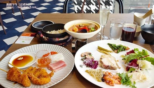 ホテルセンチュリーマリーナ函館の朝食バイキングでお腹イッパイ大満足
