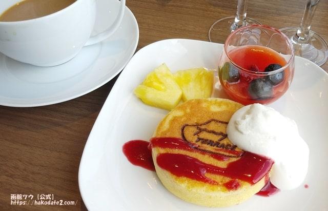 ホテルセンチュリーマリーナ函館の玄米入りパンケーキ