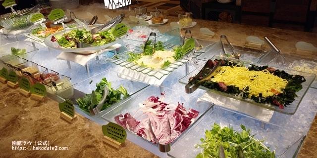 センチュリーマリーナ函館のサラダ