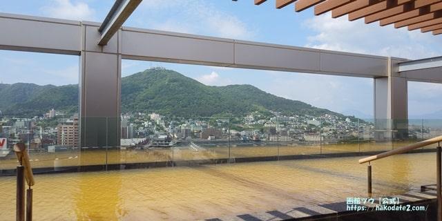 函館山が見られる温泉・屋上露天風呂