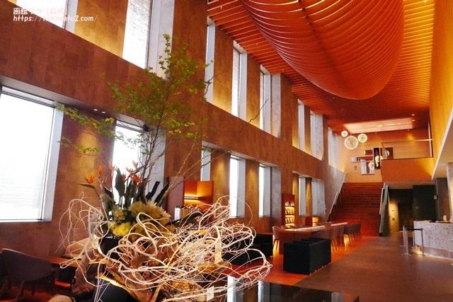 ホテルセンチュリーマリーナ函館のロビー