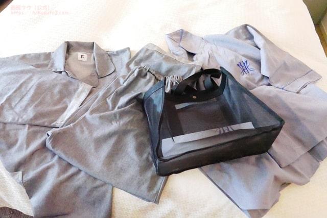 ホテルセンチュリーマリーナ函館の作務衣