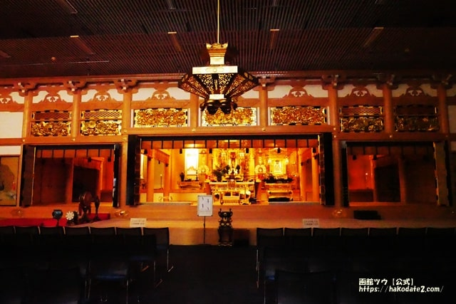 本願寺函館西別院の本堂