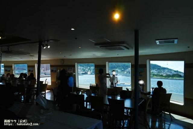 青函連絡船記念館摩周丸のニューサロン海峡