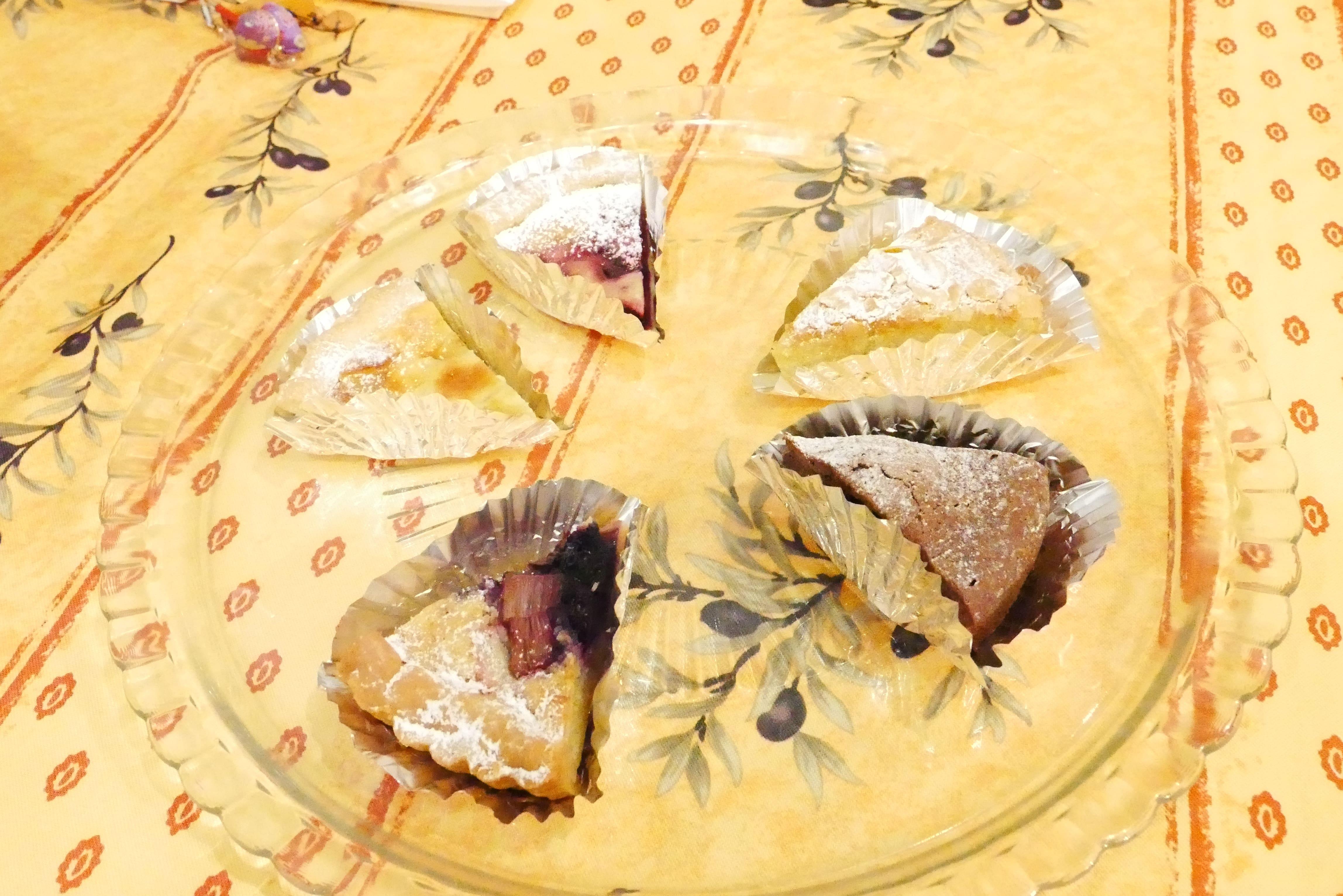 釧路パティスリージャンレイのケーキ