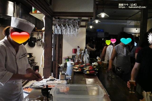 旬鮮酒家 桜路のバル街2019年にぎり寿司